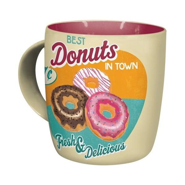 Keramický hrnek Donuts, 330 ml