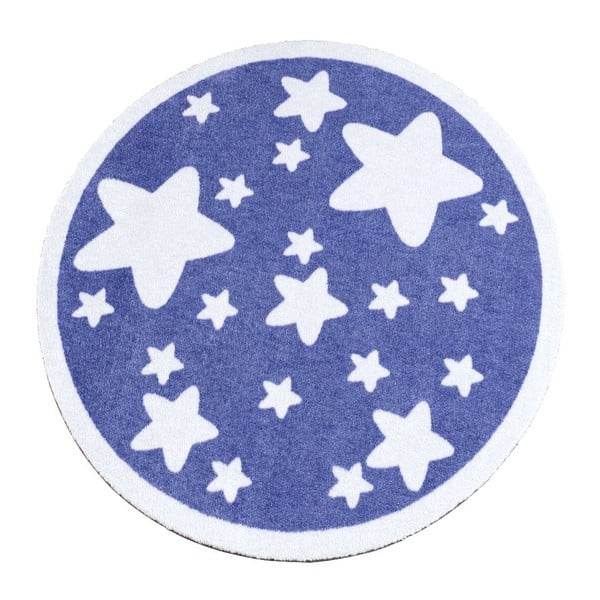 Koberec Deko - fialové hvězdy, 100 cm