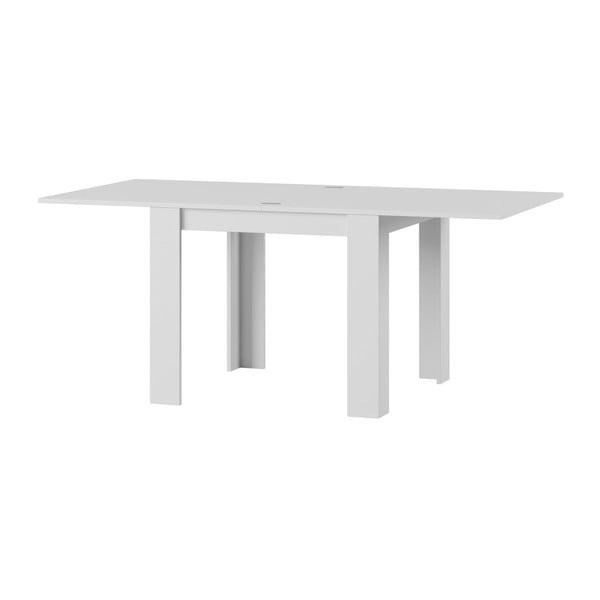 Bílý rozkládací jídelní stůl Szynaka Meble Saturn