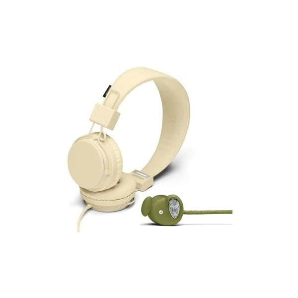 Sluchátka Plattan Cream + sluchátka Medis Olive ZDARMA