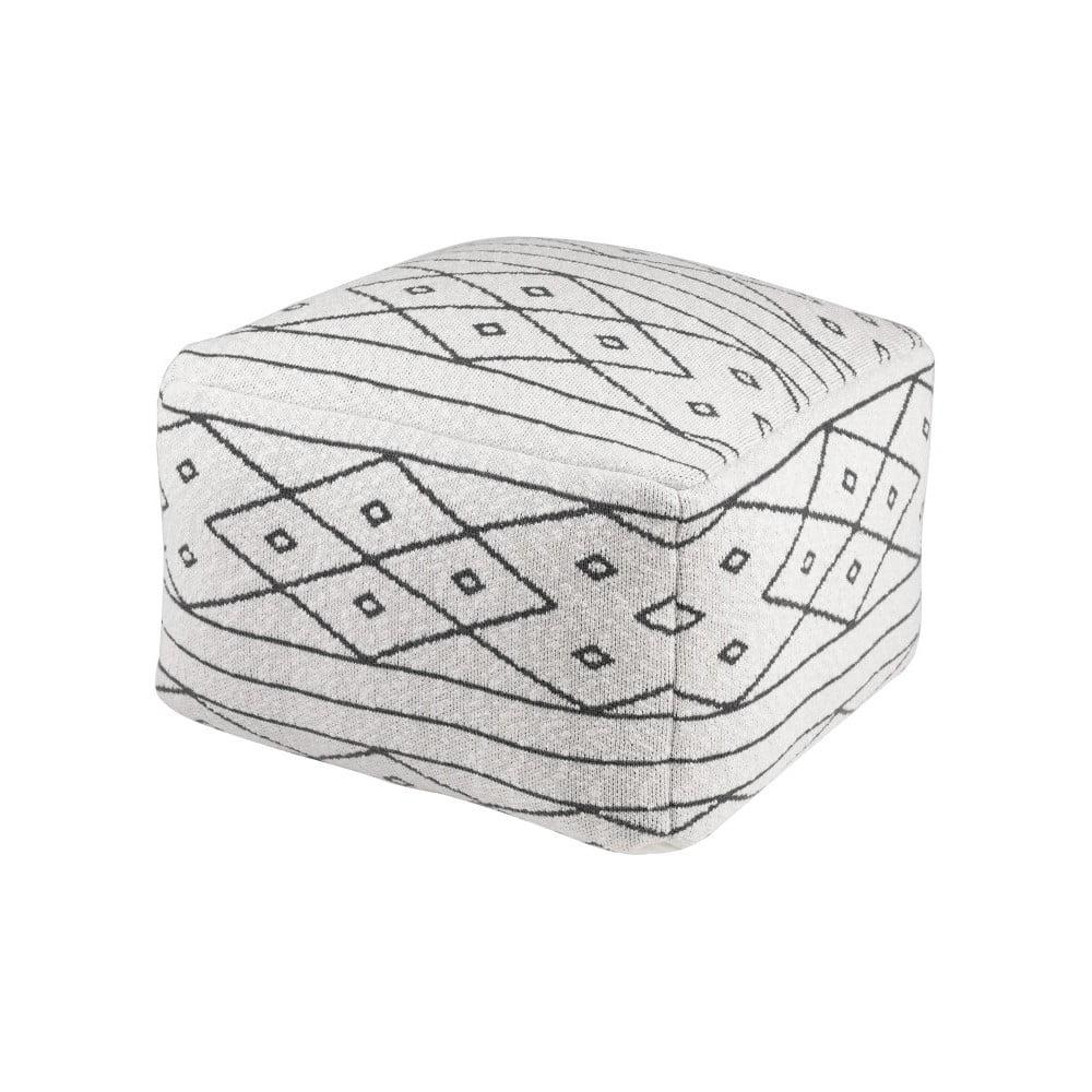 Vzorovaný puf sømcasa Diamond