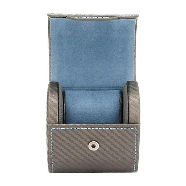 Box na hodinky Carbon Rlegant Roll Grey