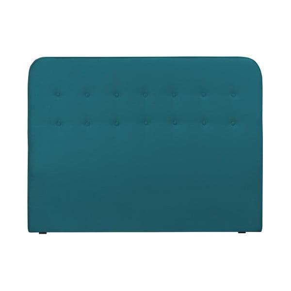 Azurově modré čelo postele HARPER MAISON Lena, 180 x 120 cm