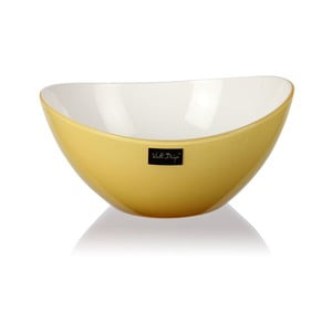 Světle žlutá salátová mísa Vialli Design, 16cm