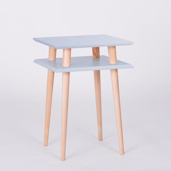 Světle šedý konferenční stolek Ragaba Square, 43x43cm