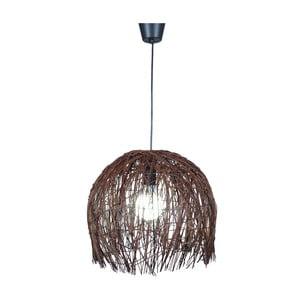 Stropní světlo Naeve Struwel Brown, 35x40 cm