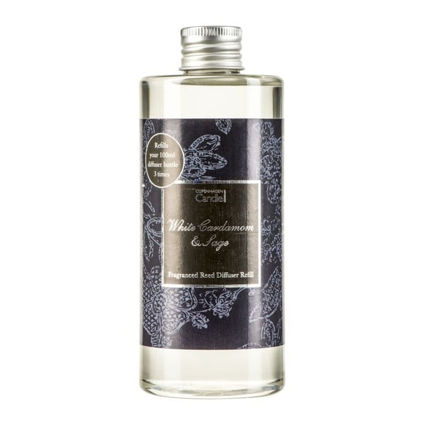 Náplň do aroma difuzéru White Cardamon & Sage Reed, 300 ml