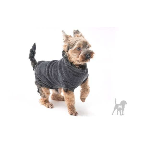 Šedý svetřík pro psy Marendog Trip, vel. M