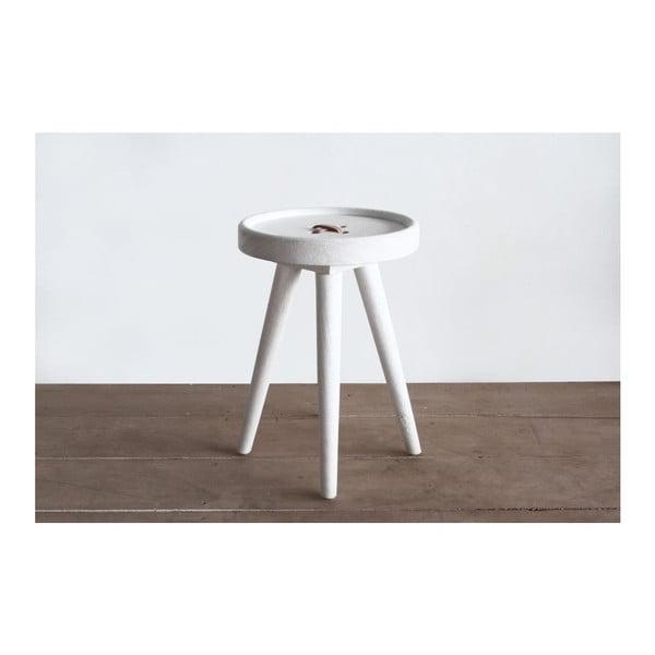 Odkládací stolek Preston Button Natural