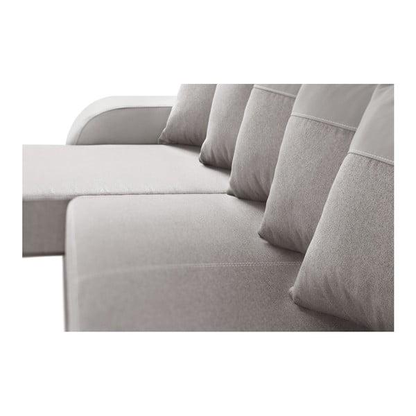 Šedohnědá sedačka Interieur De Famille Paris Destin, levý roh