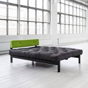 Postel Dubstep 140x200 cm, gray/pistacio