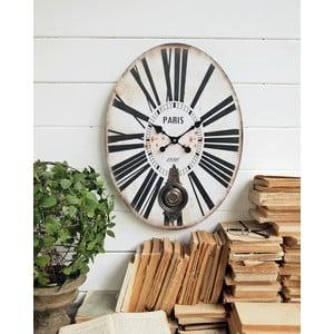Nástěnné kyvadlové hodiny Pendulum, 43x58 cm