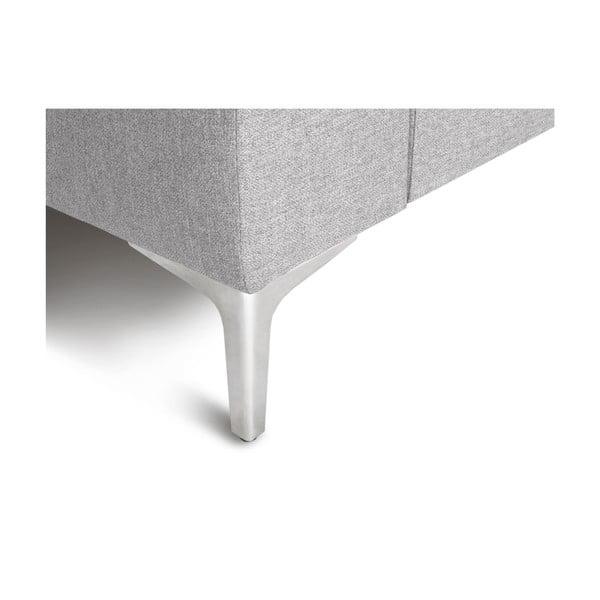 Světle šedá rohová čtyřmístná pohovka Cosmopolitan Design Cartegena, pravý roh