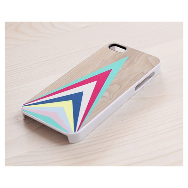 Obal na iPhone 5, Colourful Upward Triangles