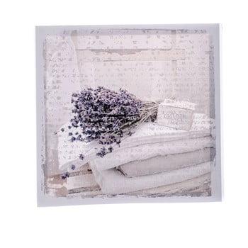 Tablou pe pânză cu lavande Dakls Flowers, 28x28cm