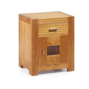Noční stolek Natural, 50x60 cm