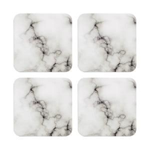 Set 4 supoturi sub pahar Ladelle Stone Marble