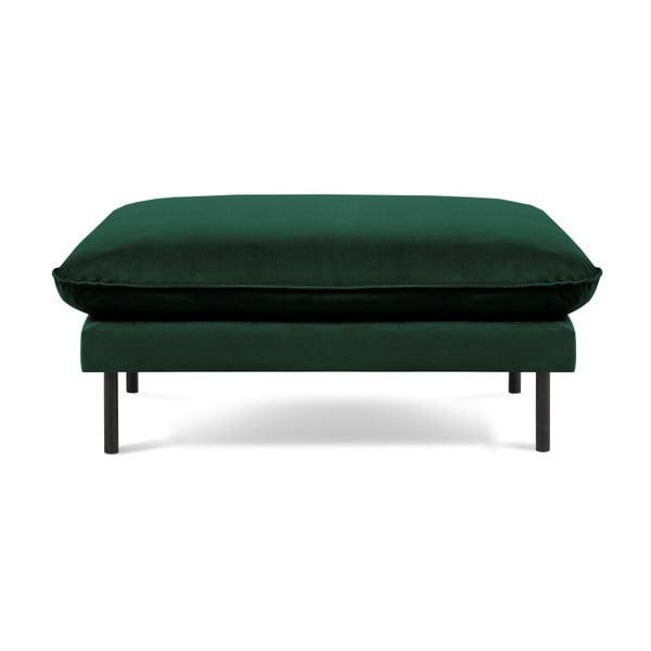 Zelená podnožka Cosmopolitan Design Vienna, 100 x 80 cm