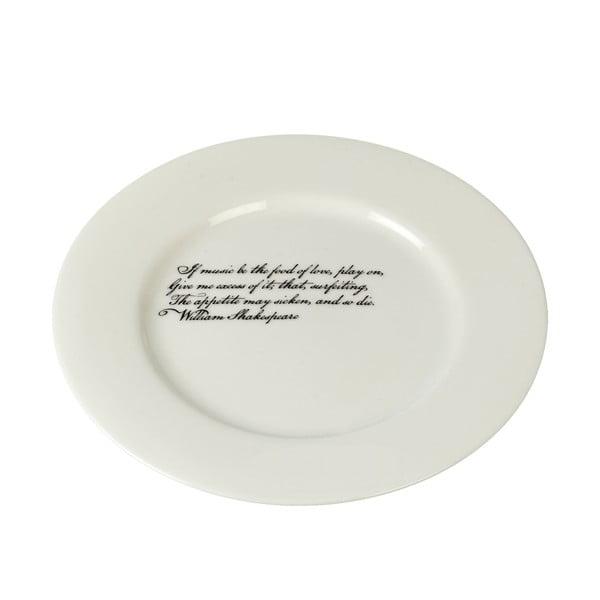 Porcelánový talíř Shakespeare, 21 cm