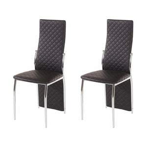 Sada 2 černých jídelních židlí Støraa Wilson