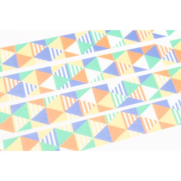 Washi páska Shimasankaku Blue
