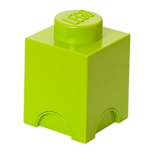 Úložný boxík Lego Movie, limetkový