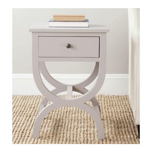 Noční stolek Maxine, šedý