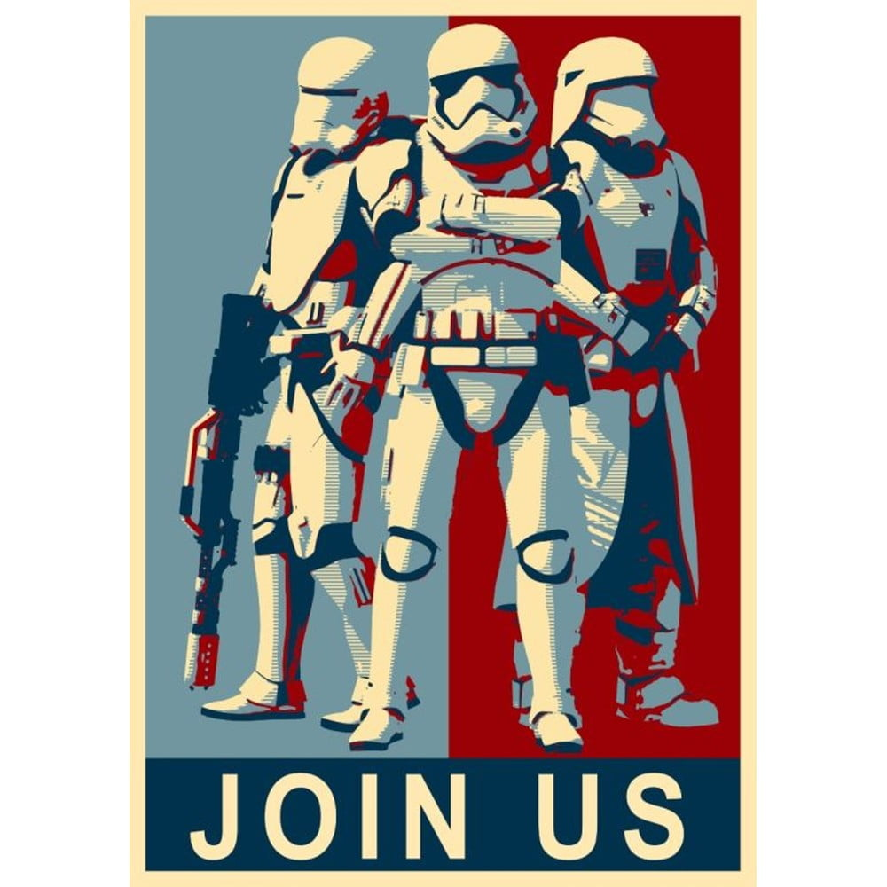 Plakát Blue-Shaker Star Wars 101, 30 x 40 cm