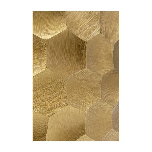Vază Kare Design Aria Comb, înălțime 49,5cm, auriu