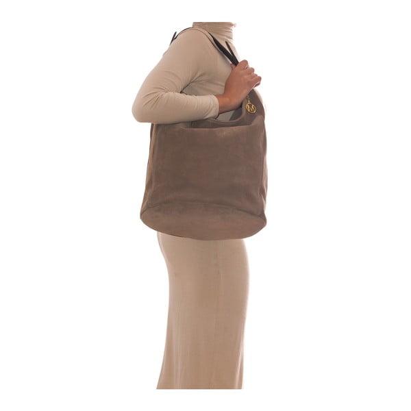Kožená kabelka Mangotti 8004 Fango