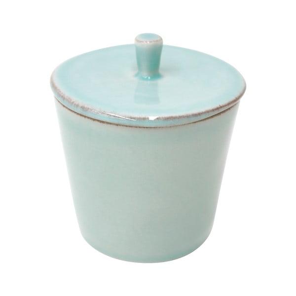 Recipient ceramică pentru zahăr Costa Nova Lisa 200 ml, turcoaz