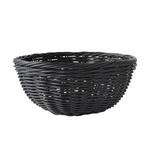 Košík na pečivo, černý