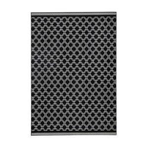 Černý koberec Zala LivingChain,70x140cm