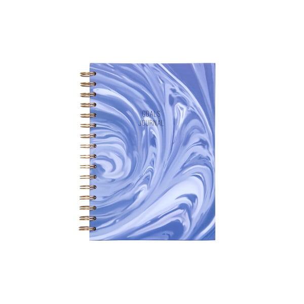 Spirálový zápisník Tri-Coastal Design Goals Journal