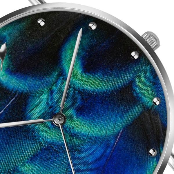 Dámské hodinky s modrým páskem z pravé kůže Emily Westwood Dreamy