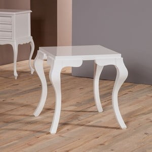 Odkládací stolek Palma White
