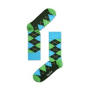 Ponožky Happy Socks Green and Blue, vel. 36-40