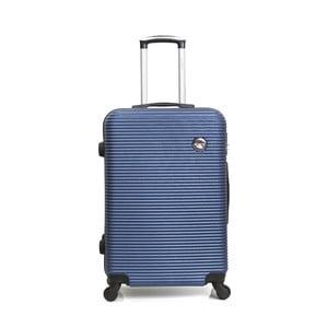 Modrý cestovní kufr na kolečkách BlueStar Porto, 39l