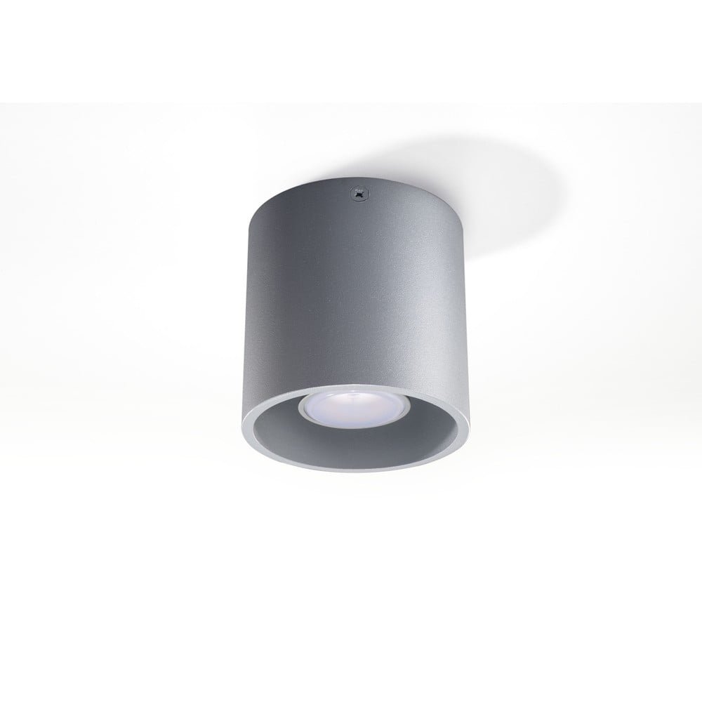 Šedé stropní svítidlo Nice Lamps Roda
