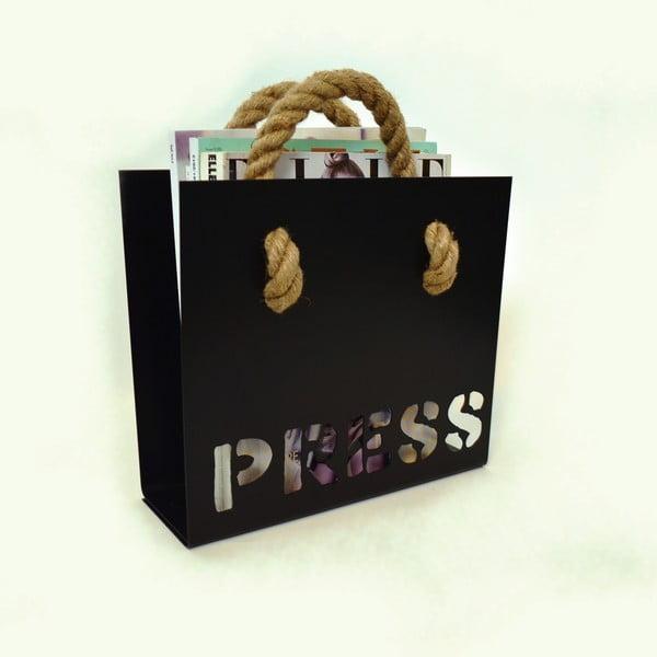 Stojan na noviny Press, černý