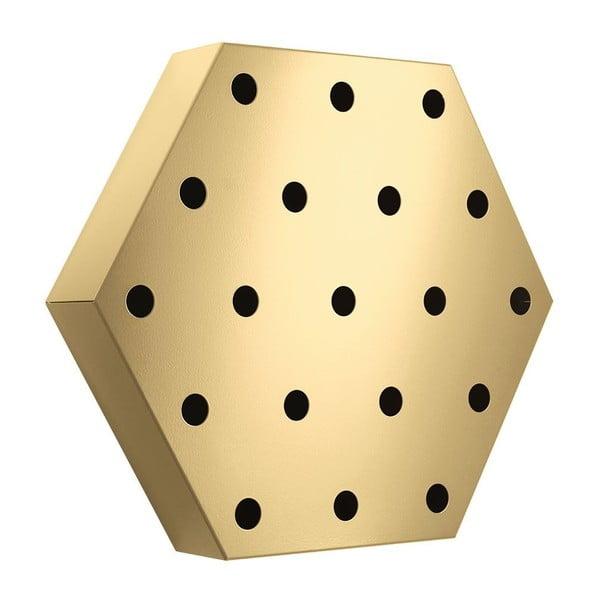 Stojan na víno Hexagon Maxi, zlatý