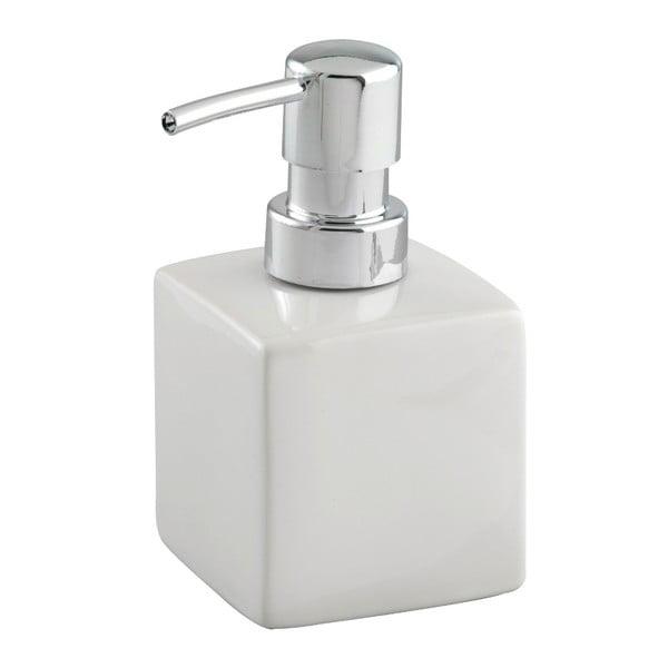 Biały ceramiczny dozownik do mydła Wenko Square