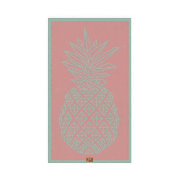 Osuška Hawke&Thorn Pineapple, 90x160 cm
