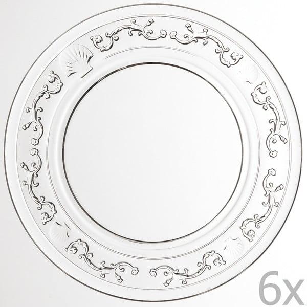 Sada 6 talířů Versailles, 25 cm