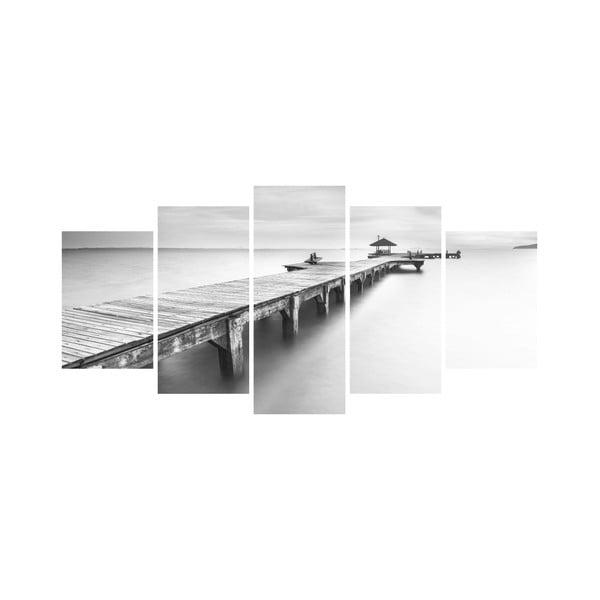 Vícedílný obraz Black&White no. 65, 100x50 cm