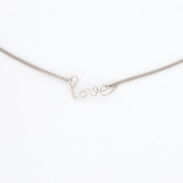 Náhrdelník Love Silver