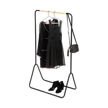 Suport pentru haine Compactor Elias Clother Hanger, înălțime 145 cm, negru imagine