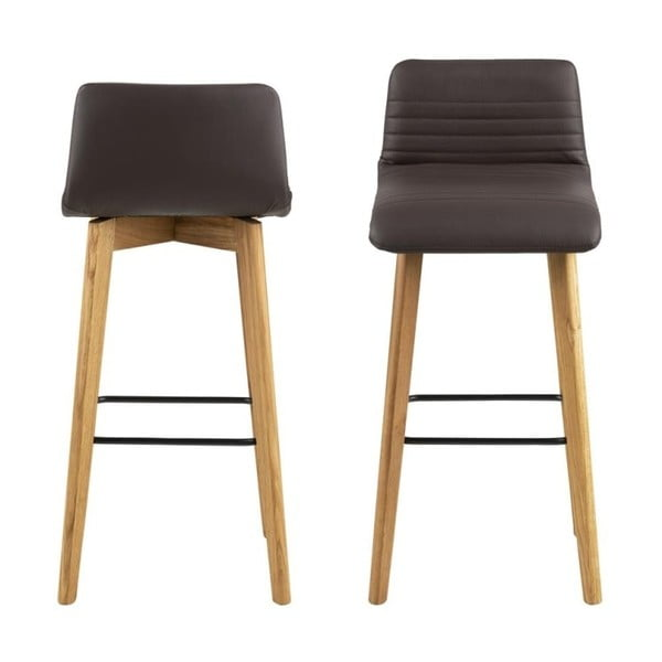 Hnědá židle Actona Arosa