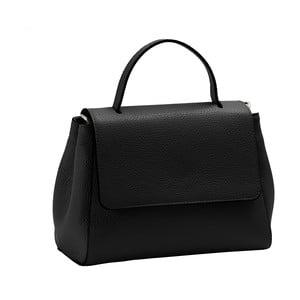 Černá kabelka z pravé kůže Andrea Cardone Pakula