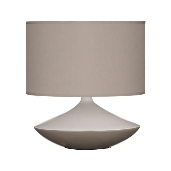 Stolní lampa, šedá